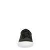 Schwarze Sneakers aus Leder