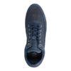 Dunkelblaue Sneaker mit hohem Schaft
