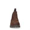 Braune waterproof Chelsea Boots aus Nubukleder