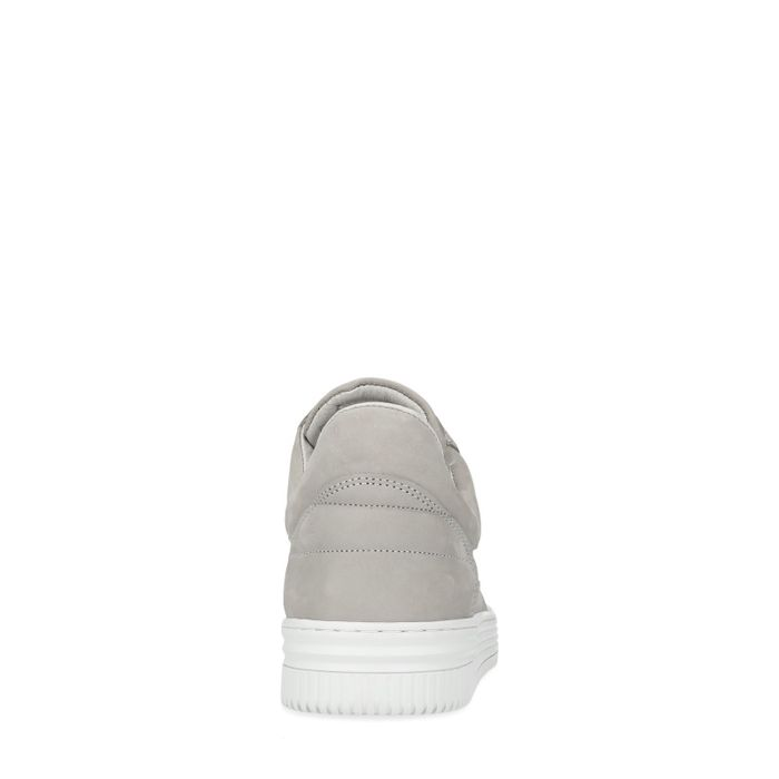 Graue High-Top-Sneaker
