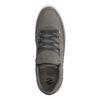 Graue Sneaker mit Schlangenmuster
