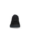 Schwarze Sneaker aus Nubukleder