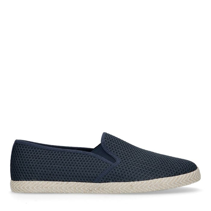Dunkelblaue Slipper