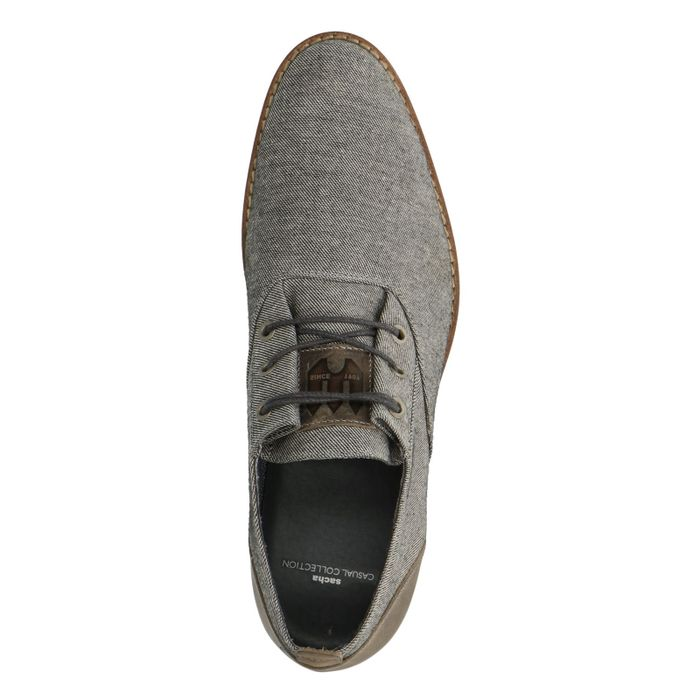 Legere graue Schnürschuhe