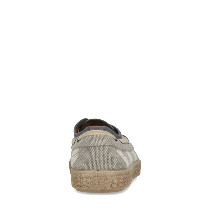 Gestreifte Sneaker blau-weiß