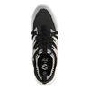Sneaker in Schwarz/Weiß/Grau