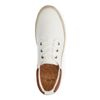 Weiße Sneaker aus Textil