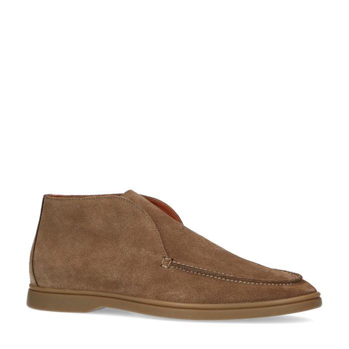 Camelfarbene Loafer