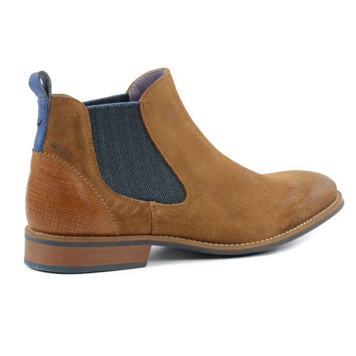 Chelsea-Boots für Herren braun