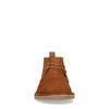 Cognacfarbene Desert Boots aus Veloursleder