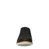 Dunkelbraune Schnürschuhe aus Veloursleder