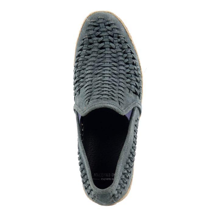 Geflochtene Loafer - blau