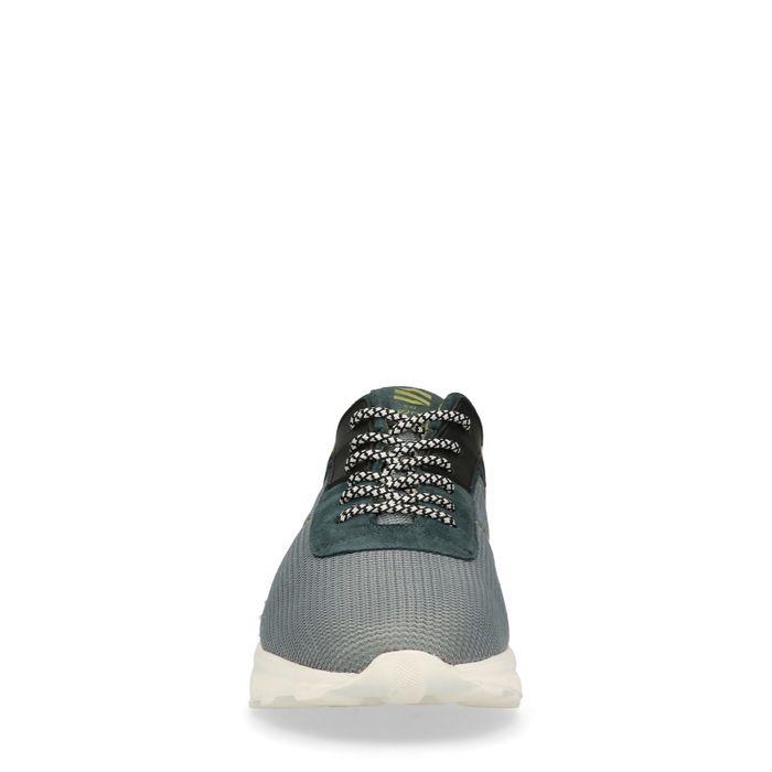 Graue Sneaker mit Details