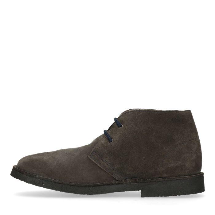 Dunkelgraue Desert Boots