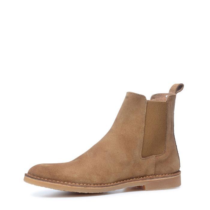 Chelsea Boots hellbraun