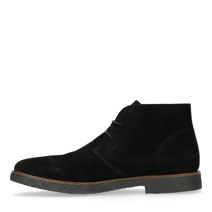 Schwarze Desert Boots