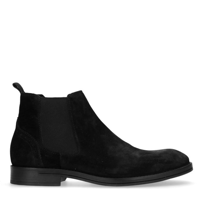 Schwarze Chelsea-Boots