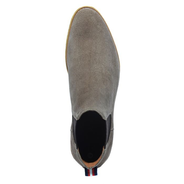 Taupefarbene Chelsea Boots