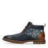 Boots à lacets avec détail - bleu foncé