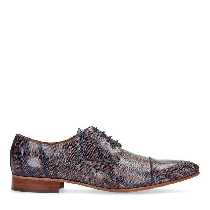 Chaussures à lacets à pois - multicolore
