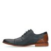 Chaussures à lacets en cuir - bleu