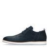 Chaussures à lacets en cuir - bleu foncé