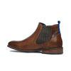 Chelsea boots en cuir - marron
