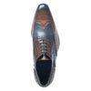 Chaussures à lacets cuir brogues - marron