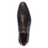 Chaussures à lacets avec motif - marron foncé