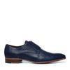 Chaussures à lacets avec motif - bleu foncé