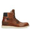 Boots à lacets - cognac