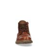 Boots à lacets en cuir avec boucle - marron