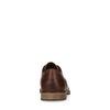 Chaussures à lacets en cuir avec perforations - marron