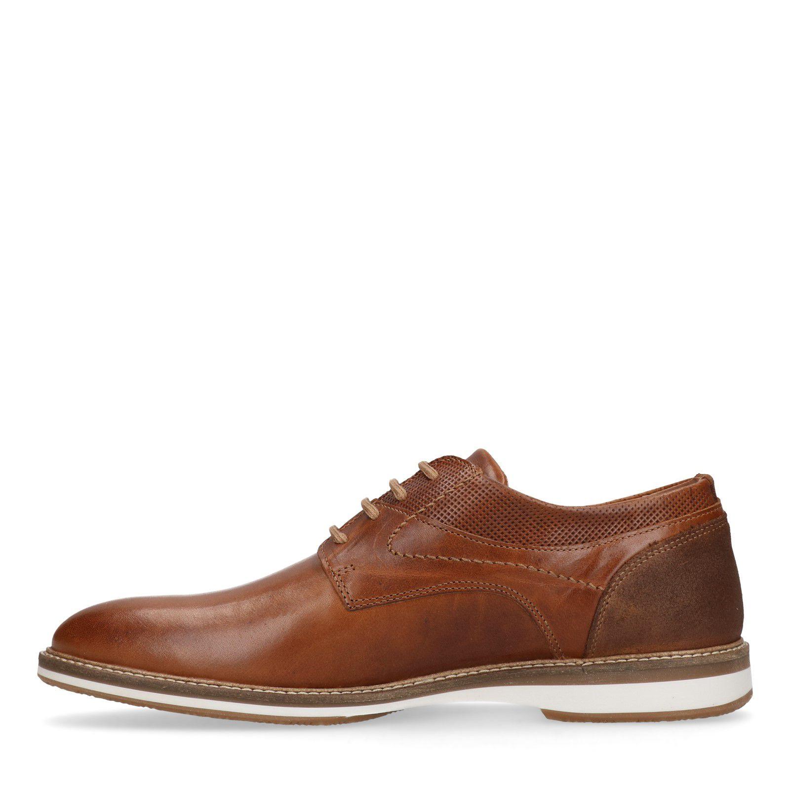 Sacha marron Chaussures semelle à avec lacets blanche en cuir QdtsBhCxr