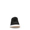 Baskets en daim et cuir - noir