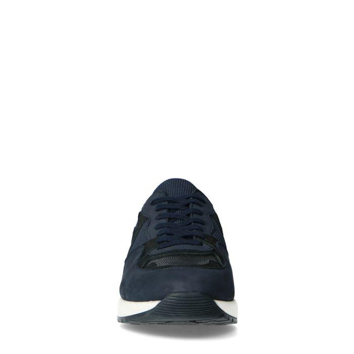 Baskets avec détails - noir