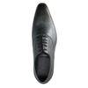 Chaussures à lacets avec motif peau de serpent - gris foncé