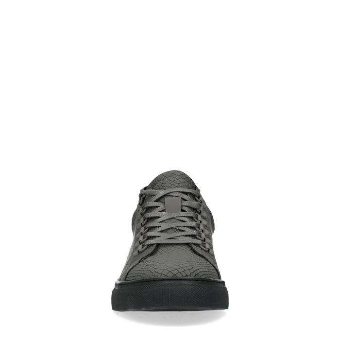 Baskets avec semelle noire - gris