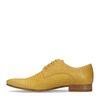 Chaussures à lacets - jaune