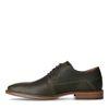 Chaussures à lacets en cuir - kaki