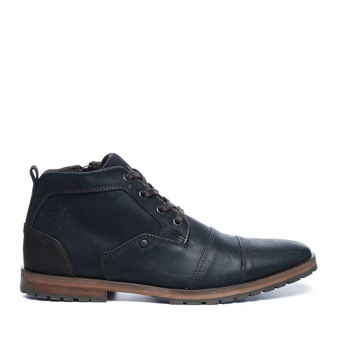 Chaussures à lacets montantes - noir