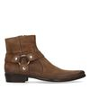 Boots en cuir basses - taupe