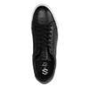 Baskets basses en cuir - noir