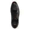 Chaussures à lacets décontractées en cuir - noir