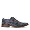 Chaussures à lacets en cuir avec imprimé multicolore