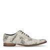 Chaussures à lacets avec poissons - gris