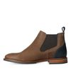 Chelsea boots en cuir - taupe