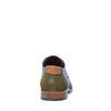 Chaussures à lacets avec motif - vert foncé