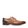 Chaussures à lacets avec détail - marron