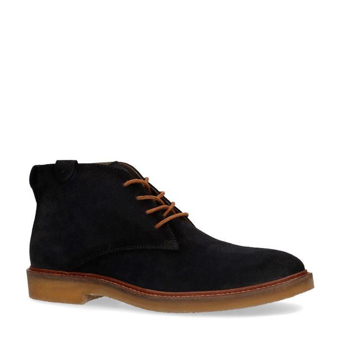 Desert boots en daim - bleu foncé